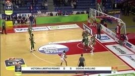 VL Pesaro-Sidigas Avellino 91-89