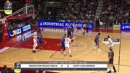Grissin Bon Reggio Emilia-Happy Casa Brindisi 82-76