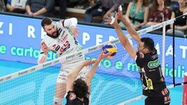 Volley: Superlega, in Gara 1 dei Quarti: successi per Trento, Perugia e Civitanova