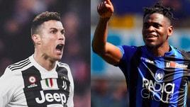 Scarpa d'Oro, classifica aggiornata: Zapata aggancia Ronaldo e Piatek