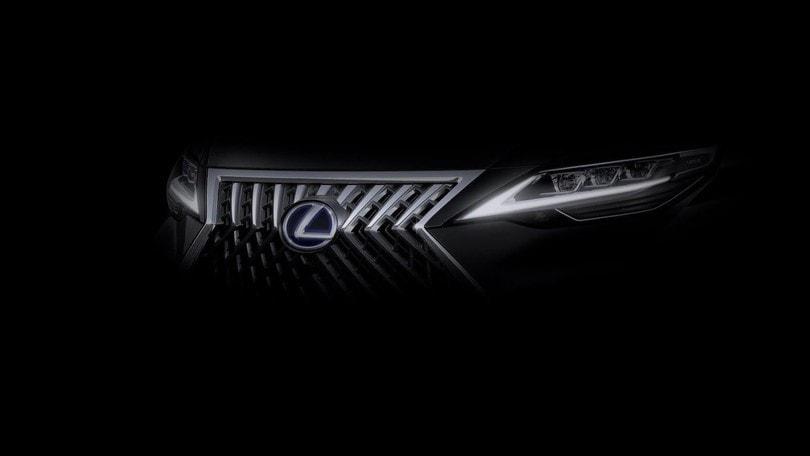Lexus, pubblicato il teaser di un nuovo modello