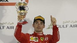 F1, Gp Bahrain: su Planetwin365 è Leclerc il vincitore