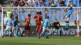 Serie A Roma multata di 12mila euro per i cori contro il Napoli