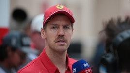 F1 Ferrari, Vettel: «Non ho sbagliato per la pressione»