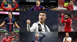 Uefa, ecco nove stelle della Champions: qual è il vostro tridente preferito?