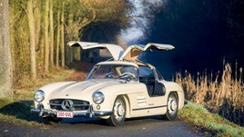La leggendaria Mercedes-Benz 300 SL finisce all'asta