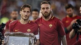 Addio De Rossi, il messaggio di Totti: «Giorno triste, si chiude un capitolo»