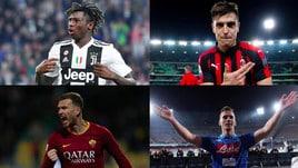 Serie A, 30ª giornata: tutte le probabili formazioni