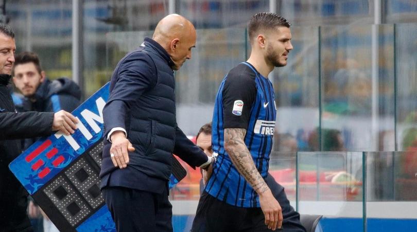 Inter, la curva Nord contro Icardi