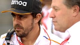 F1 McLaren: Alonso in pista nei test in Bahrain