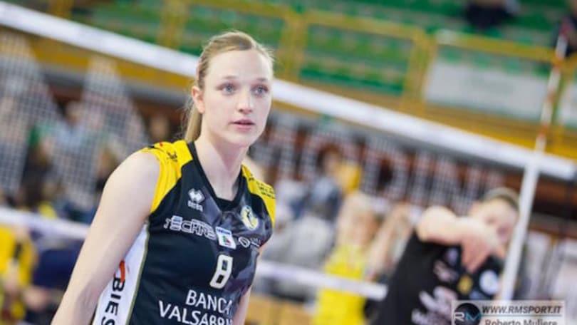Volley: A1 Femminile, Judith Pietersen lascia la pallavolo giocata
