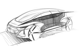 Audi AI:me, i primi bozzetti della concept car