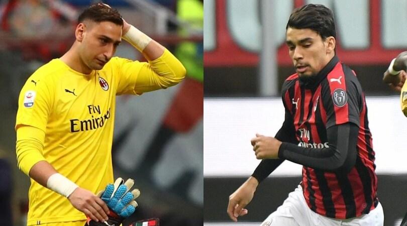 Donnarumma e Paquetá infortunati in Milan-Udinese