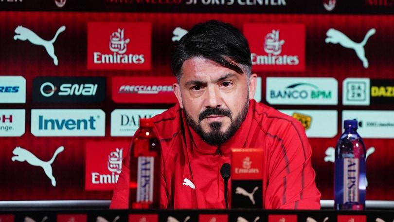 Milan, Gattuso: «Contro la Juve serve la vittoria della svolta»