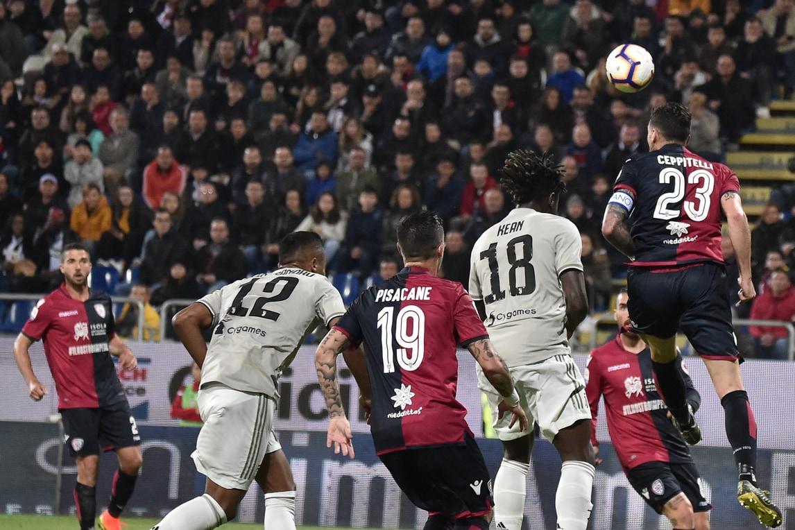 Serie A Cagliari-Juventus 0-2, il tabellino