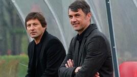 Milan, Maldini e Leonardo all'allenamento: di cosa parlano in panchina?