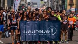 La Fondazione Laureus Italia Onlus alla Generali Marathon del 7 aprile