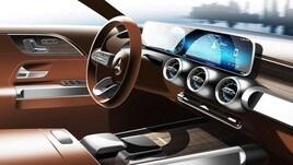 Mercedes GLB, show car al Salone di Shanghai
