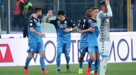 Serie A, Empoli-Napoli 2-1: la Juve ora è a +18