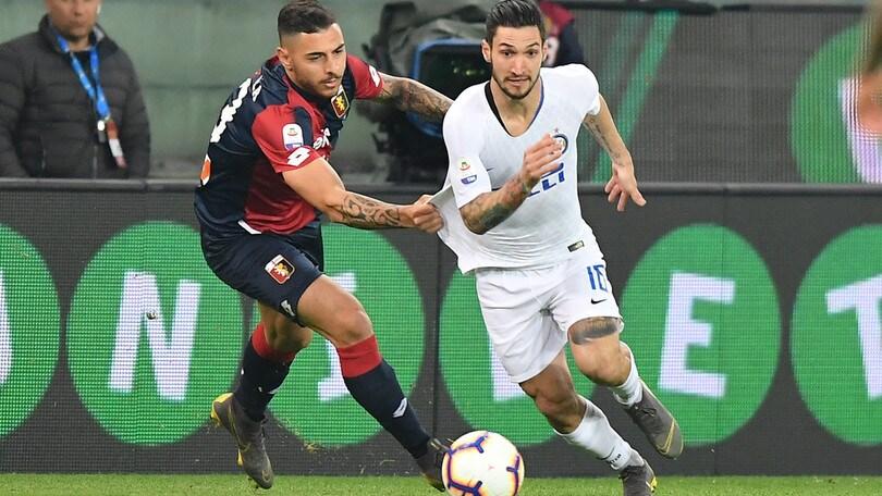 Serie A Genoa-Inter 0-4, il tabellino