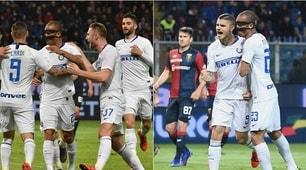 Genoa-Inter, Icardi ritrova il gol: è festa tra i compagni