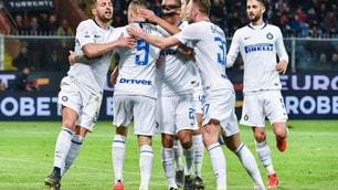 Icardi torna al gol e l'Inter fa festa: Genoa travolto