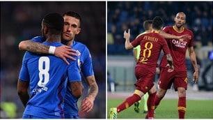 L'ex Gerson spaventa la Roma, Perotti evita il ko