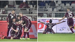 Il Torino batte la Sampdoria ed aggancia Lazio e Roma