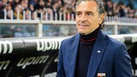 Serie A Genoa, Prandelli: «L'Inter è stata perfetta»
