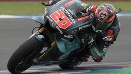 MotoGp Petronas, Quartararo: «Felice dei primi punti, ora penso al Texas»