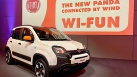 Fiat Panda Connected by Wind, citycar con wi-fi e giga inclusi