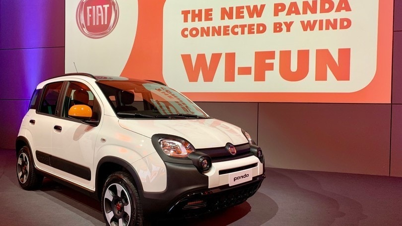 News: Fiat Panda Connected by Wind: sempre online con wifi e giga