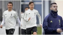 Juventus, Allegri sorride: col Milan tornano Dybala, Mandzukic e Spinazzola