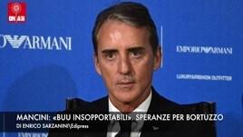 Mancini: «I buu sono insopportabili». Speranze per Manuel Bortuzzo