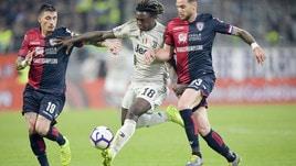Cagliari-Juve, denunciato tifoso sardo: rischia il daspo