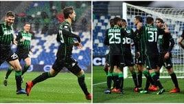Il Sassuolo condanna il Chievo con un roboante 4-0