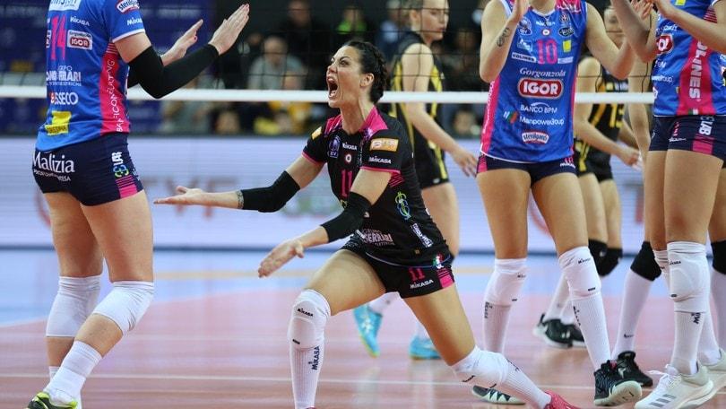 Igor Volley Calendario.Volley Champions Femminile Novara Sbanca Istanbul Sara