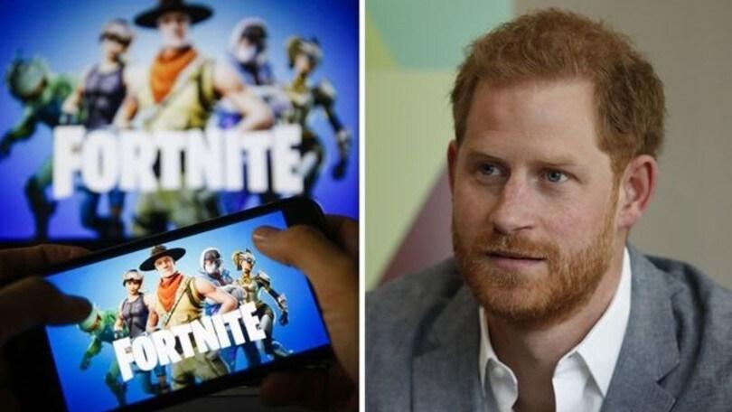 """Il Principe Harry contro Fortnite: """"Crea dipendenza"""""""