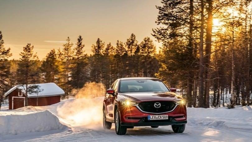 Mazda, le CX-5 conquistano il Polo Nord