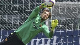 Allenamento Roma: Mirante prenota una maglia contro la Samp