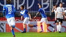 Serie B Brescia-Venezia 2-0, a bersaglio Torregrossa e Tonali