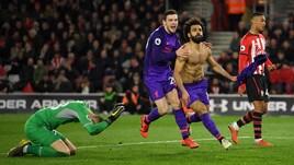 Salah risolve i problemi del Liverpool: i Reds superano 3-1 il Southampton