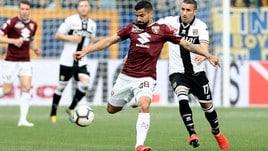 Parma-Torino senza reti: i granata sbattono contro il muro gialloblù