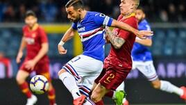 Roma, altro infortunio muscolare: Karsdorp ko contro la Samp