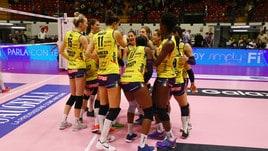 Volley: A1 Femminile, Conegliano parte forte, espugna Cuneo in Gara 1 dei Quarti