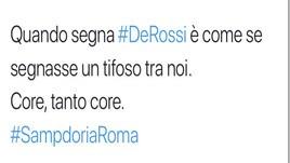 Roma, tifosi scatenati: «De Rossi uno di noi. Ora la Champions»