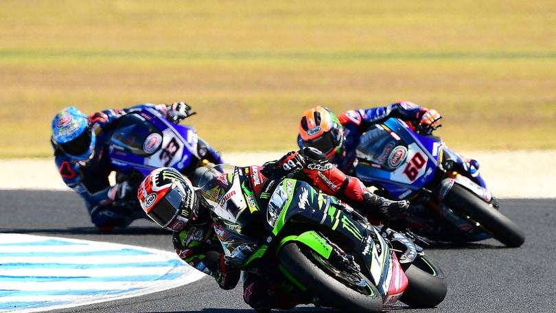 Sbk Aragon, Bautista prende anche la SuperPole Race