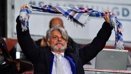 Tifoso della Roma contro Ferrero, lui replica: «Ce l'hai piccolo...»