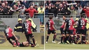 Pavoletti stende la Spal: vittoria-salvezza per il Cagliari