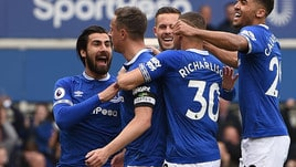 Premier, l'Arsenal ha la testa al Napoli e crolla con l'Everton